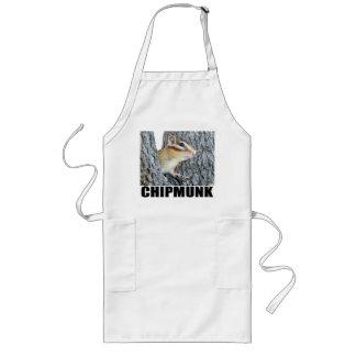 Chipmunk photo (17-4) apron