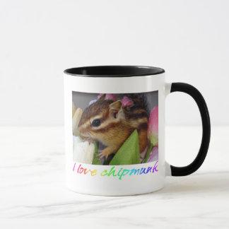 Chipmunk photo (30-10) mug