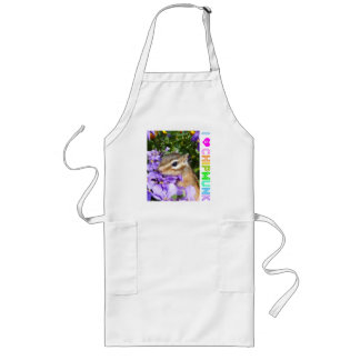 Chipmunk photo (30-15) apron