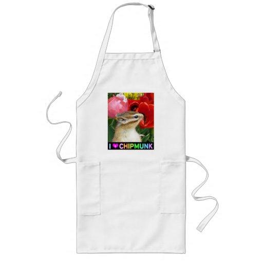 Chipmunk photo (30) apron
