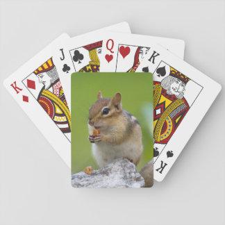 Chipmunk Playing Cards