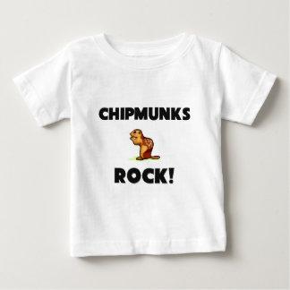 Chipmunks Rock Baby T-Shirt
