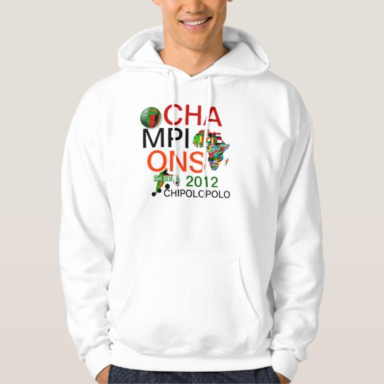 Chipolopolo Zambia 2012 Champions soccer football Hoodie