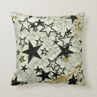 Chipped Away Galaxy Throw Pillow