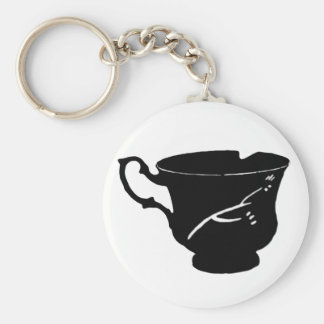 Chipped Cup Basic Keychain