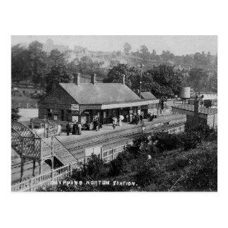 Chipping Norton Railway Station Vintage Postcard