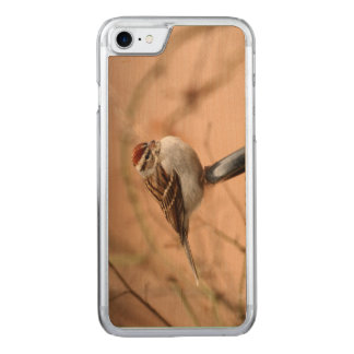Chipping Sparrow Carved iPhone 8/7 Case