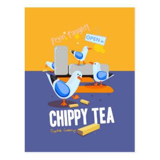 Chippy Tea Postcard