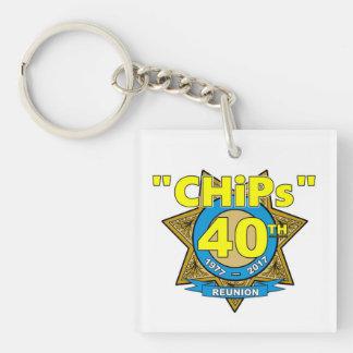 CHiPs 40th Anniversary Keychain