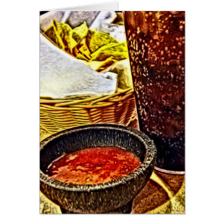 Chips and Salsa Birthday Card