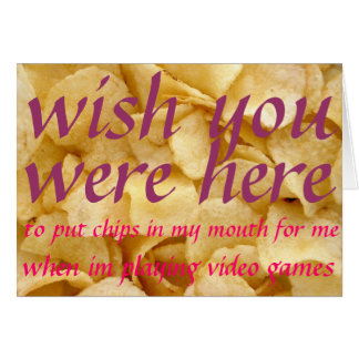 chips card