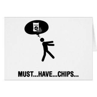 Chips Lover Card