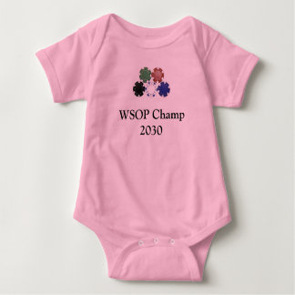 chips, WSOP Champ 2030 Baby Bodysuit