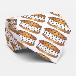 Chipwich Chocolate Chip Cookie Ice Cream Sandwich Tie