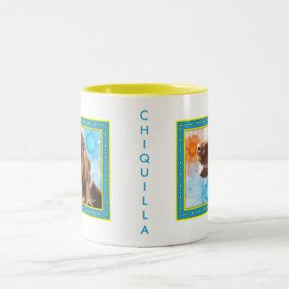 Chiquilla - Irish Setter -3 Two-Tone Coffee Mug