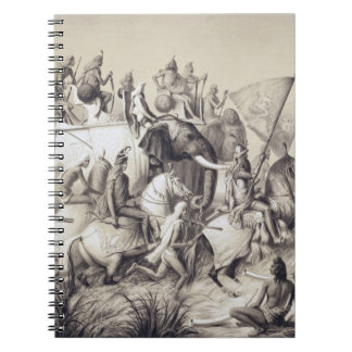 Chir Singh, Maharaja of the Sikhs with the King of Notebook