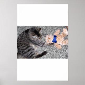 Chiro-Cat Print