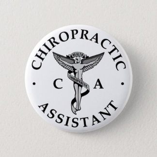 Chiropractic Assistant Logo Button
