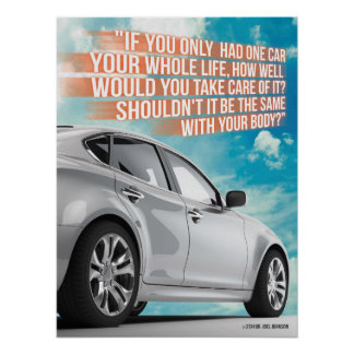 Chiropractic Car Poster