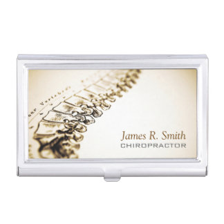 Chiropractic Clinic Business Card Holder