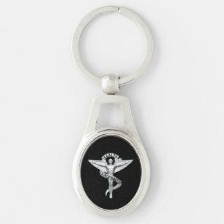Chiropractic Emblem Chiropractor Keychain