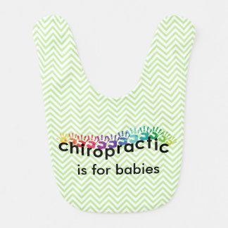 Chiropractic Hand Prints Bib