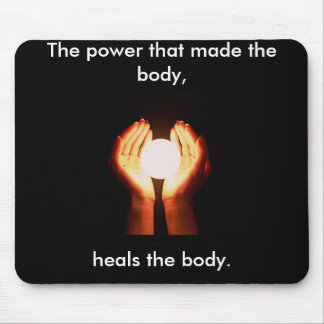 "Chiropractic Mousepad ""The Power"""