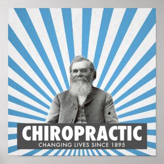 Chiropractic poster - D.D. Palmer