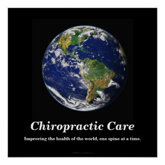 Chiropractic Poster Improving the World s Health