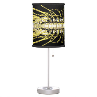 Chiropractic Spinal Nerves Table Lamp