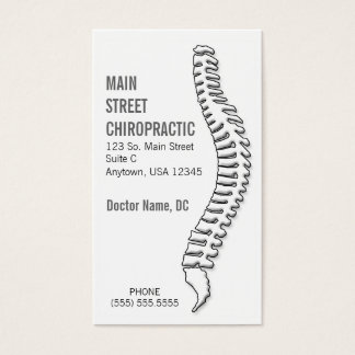 Chiropractor / Appointment Card