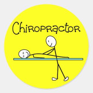 Chiropractor Gifts Classic Round Sticker