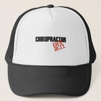 CHIROPRACTOR LIGHT TRUCKER HAT