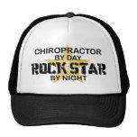 Chiropractor Rock Star by Night Mesh Hat
