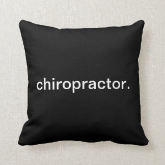 Chiropractor Throw Pillow