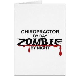 Chiropractor  Zombie Card
