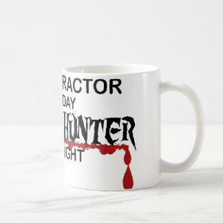 Chiropractor Zombie Hunter Coffee Mug