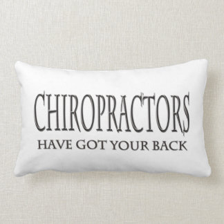 Chiropractors Have Got Your Back Lumbar Pillow