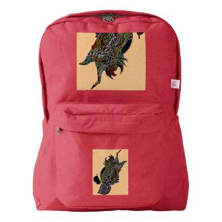 Chirp American Apparel Custom backpaack Backpack