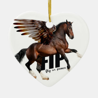Chirstmas Horse Ornament