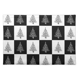 Chirstmas Tree Chess Placemat