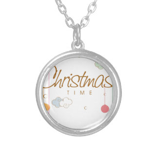 Chirtsmas 10 silver plated necklace