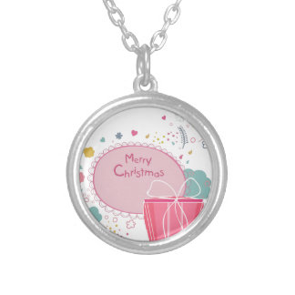 Chirtsmas 12 silver plated necklace