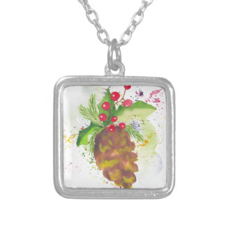 Chirtsmas 13 silver plated necklace