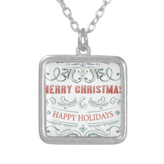 Chirtsmas 1 silver plated necklace