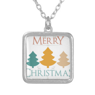 Chirtsmas 34 silver plated necklace