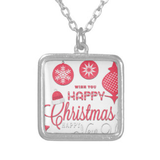 Chirtsmas 39 silver plated necklace