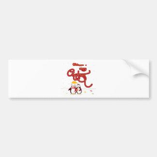 Chirtsmas 5 bumper sticker