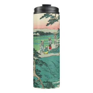 Chiryuu, Japan: Vintage Woodblock Print Thermal Tumbler