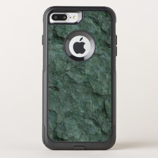 Chiseled Gray Green Rock OtterBox Commuter iPhone 8 Plus/7 Plus Case